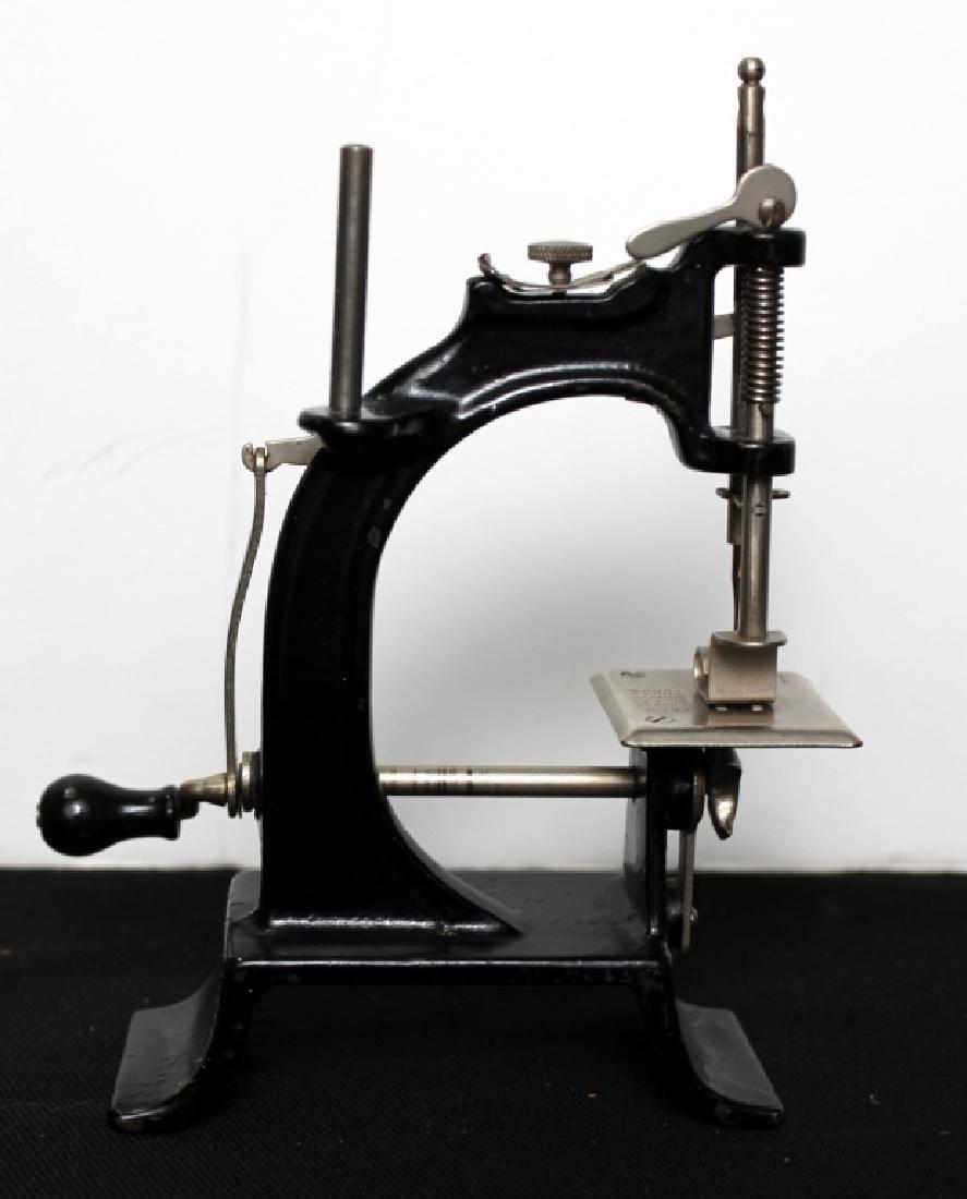 "Toy Sewing Machine - ""Baby""  w/Box"