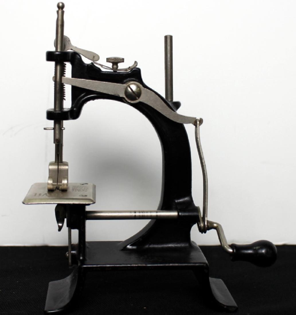 "Toy Sewing Machine - ""Baby""  w/Box - 5"
