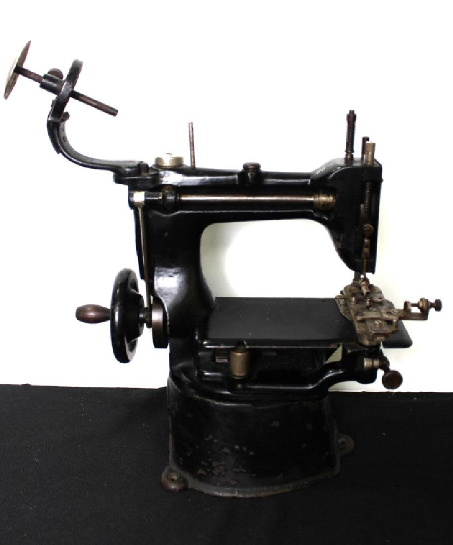 Commercial Singer Sewing Machine (late 1800's) - 10