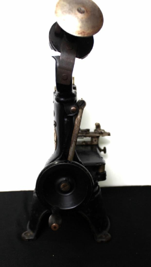 Commercial Singer Sewing Machine (late 1800's) - 8