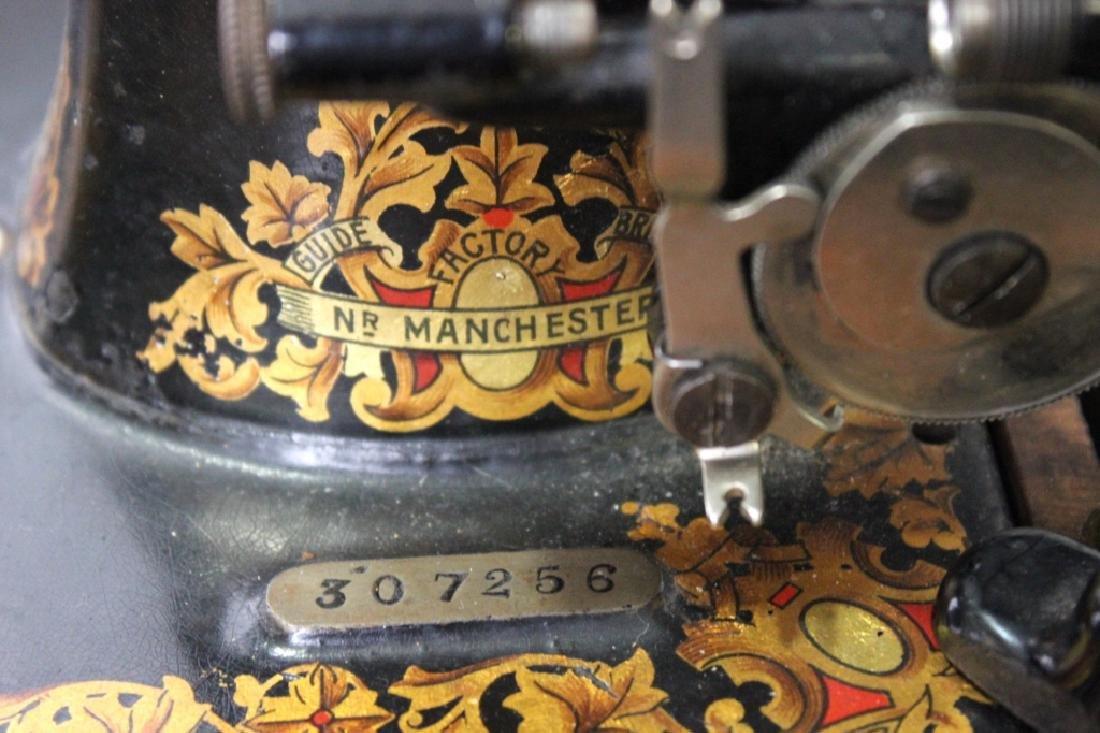 Jones Shuttle Bobbin Hand Crank Sewing Machine - 2
