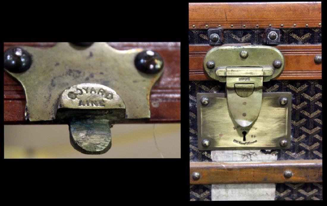 Aine Goyard Trunk Made In  Paris - 11