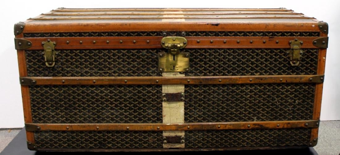Aine Goyard Trunk Made In  Paris