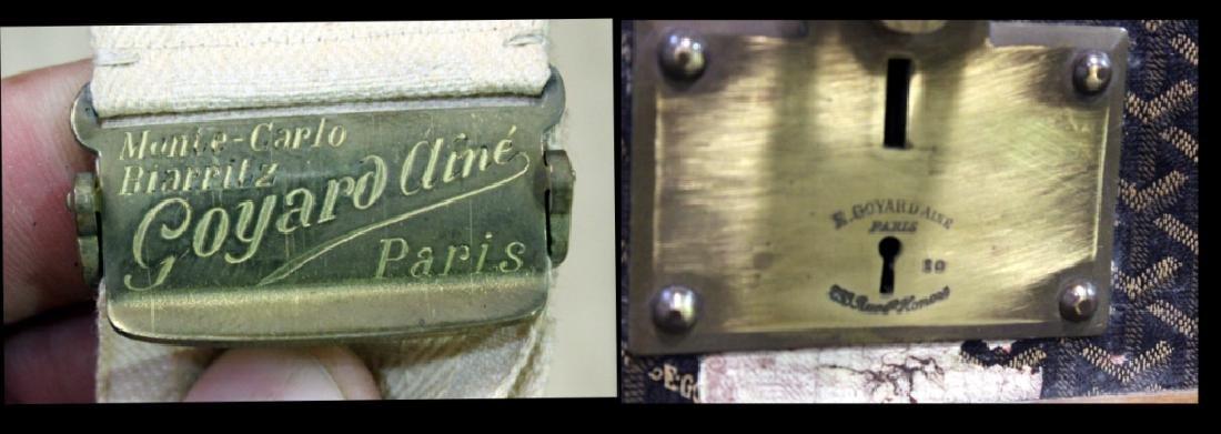 Aine Goyard Trunk Made In  Paris - 4