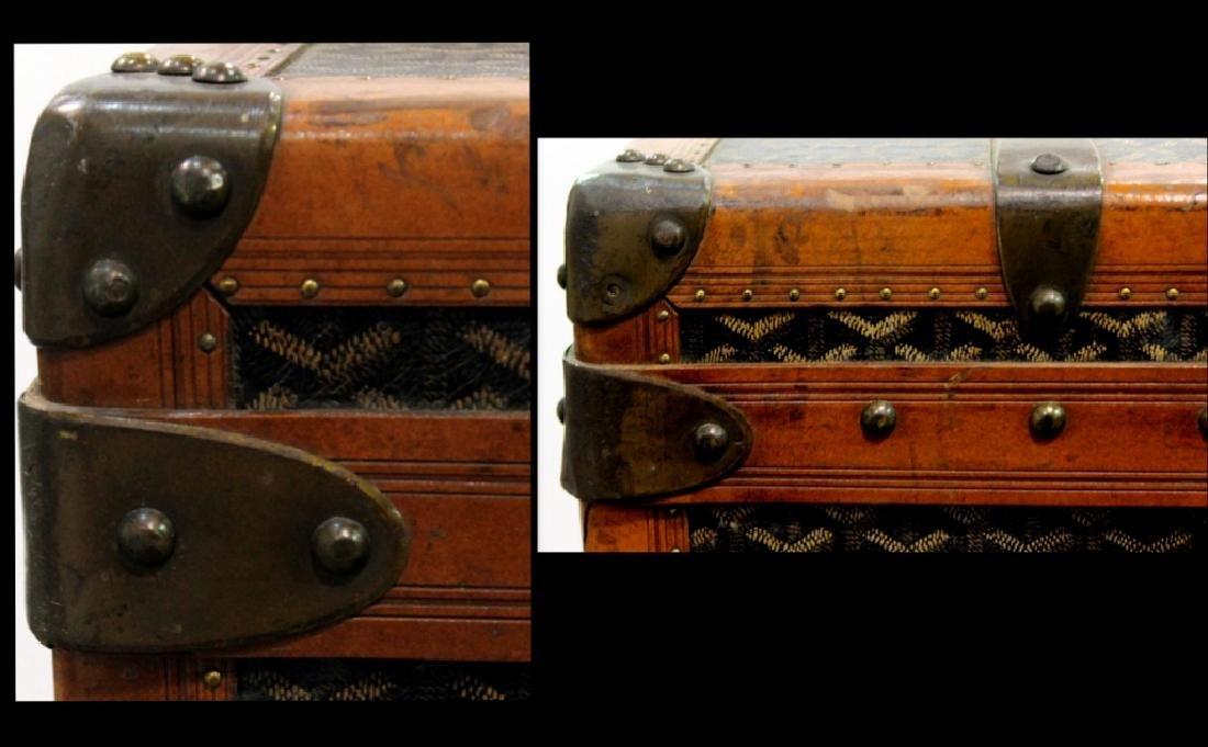 Aine Goyard Trunk Made In  Paris - 5