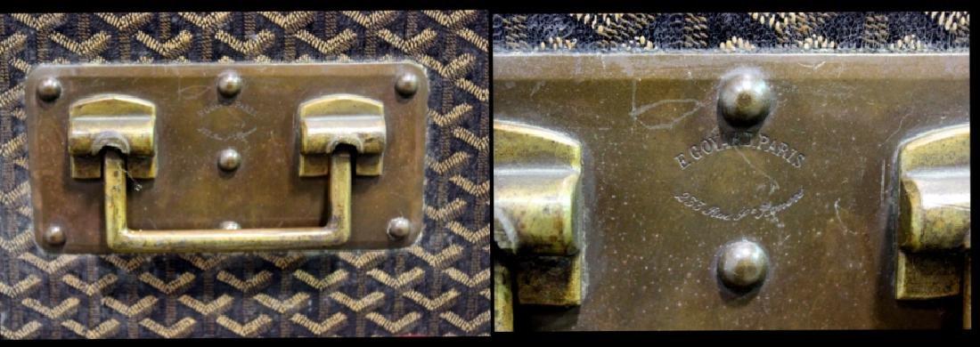 Aine Goyard Trunk Made In  Paris - 9