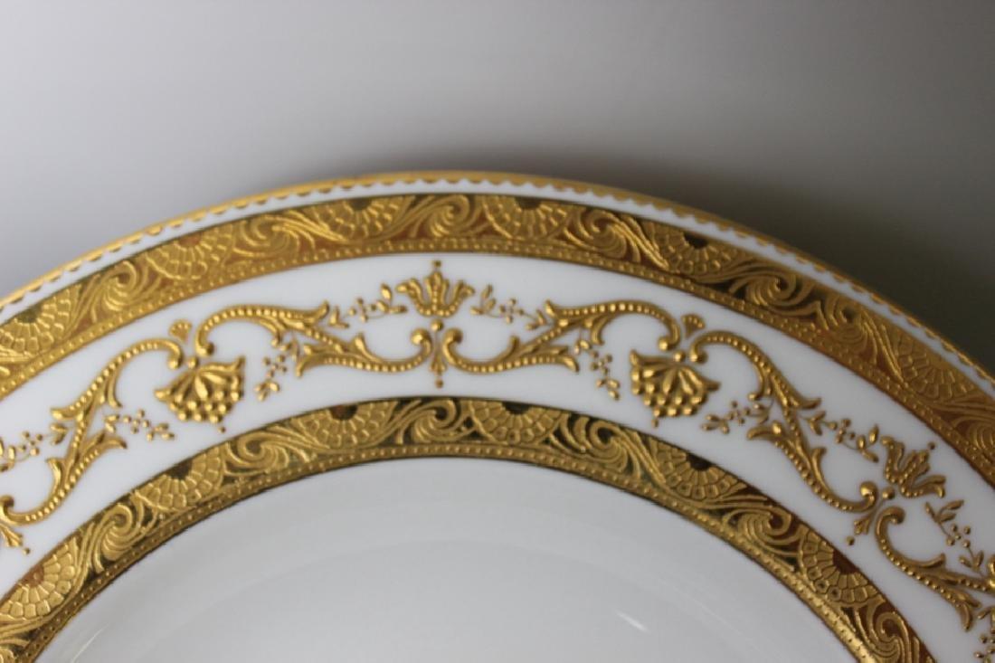 Tiffany White & Gold soup bowls (set of 5) - 3