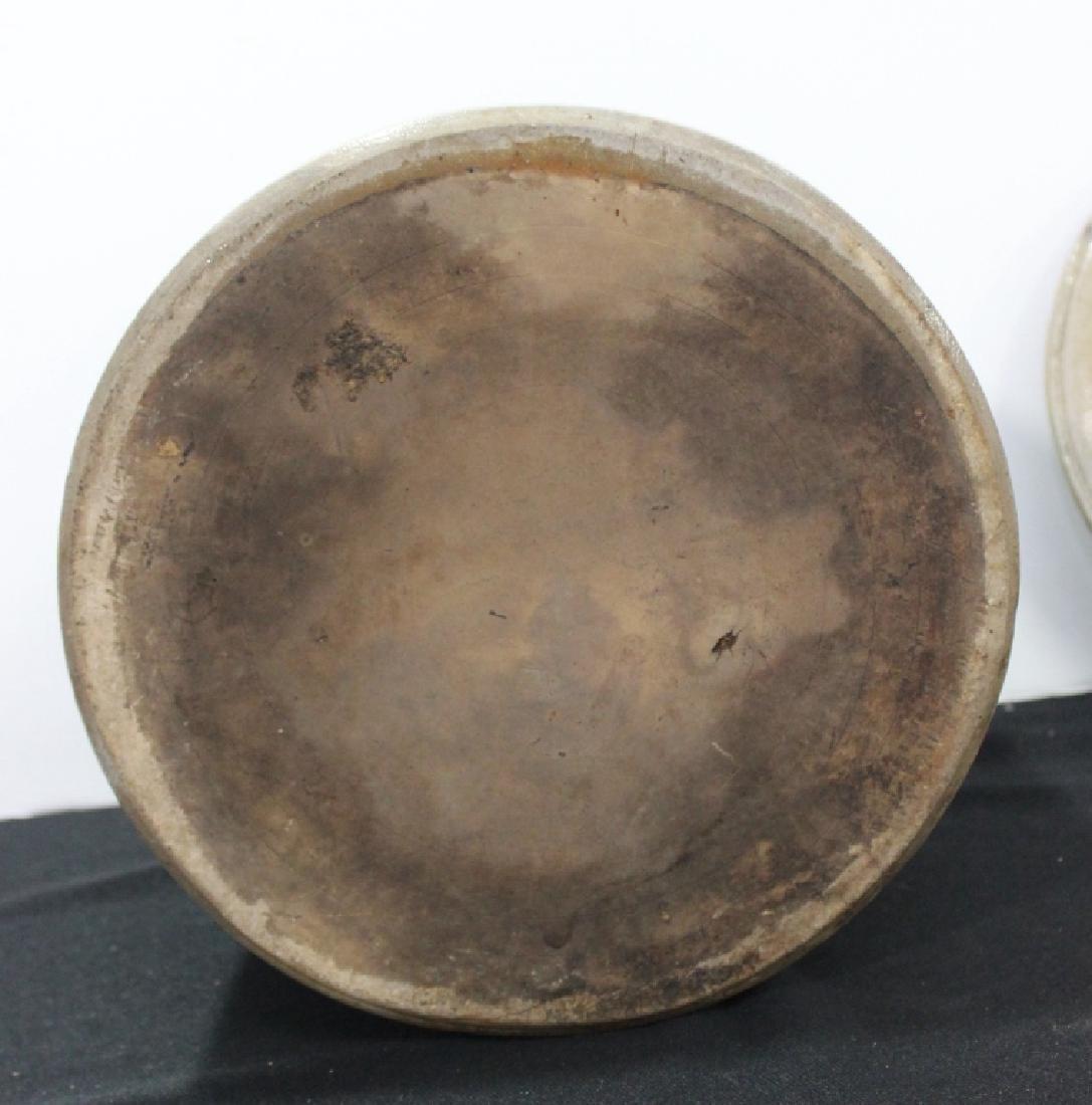 Glazed Large  Crock #2 w/Lid - 4