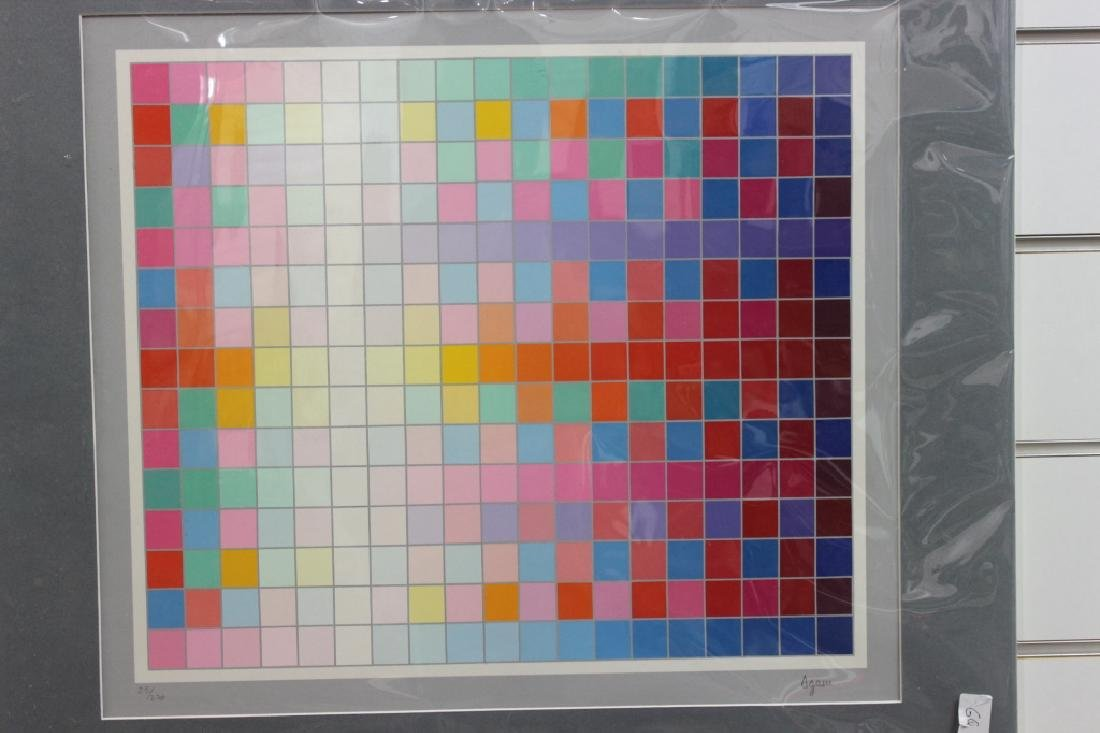 Abstract Checkerboard Print