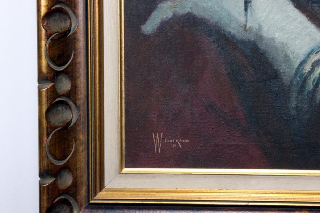 """William Weintraub, """" Young Girl """" - 2"""