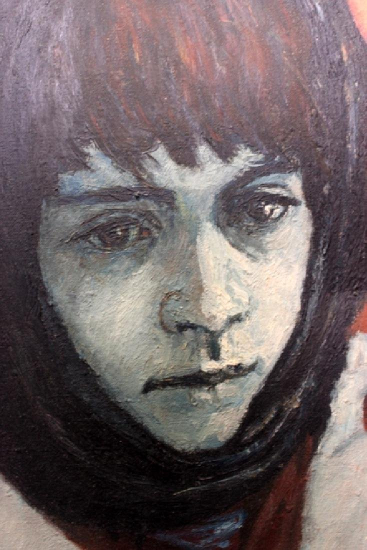"""William Weintraub, """" Young Girl """" - 3"""