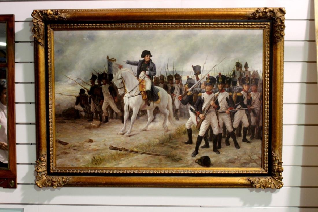 Napoleon Bonaparte Painting - 2