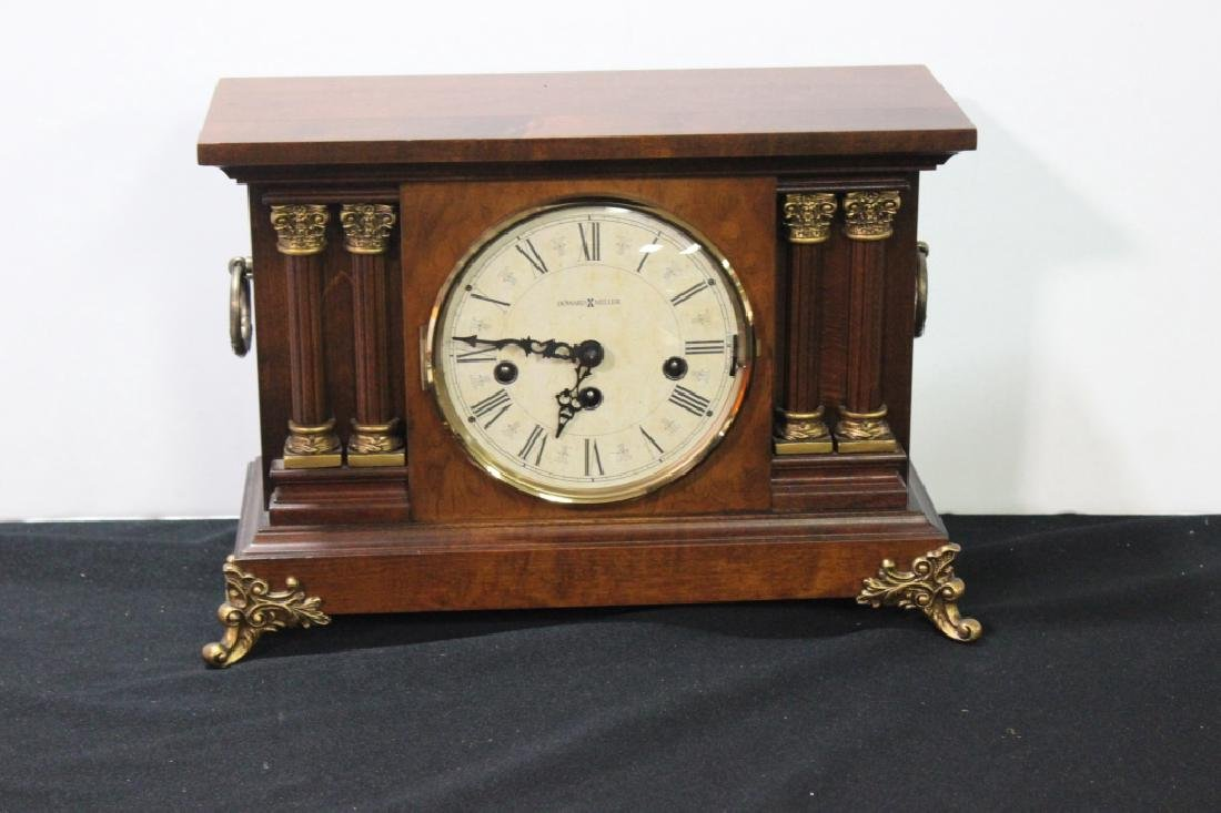 Howard Miller Mantle Clock w Key
