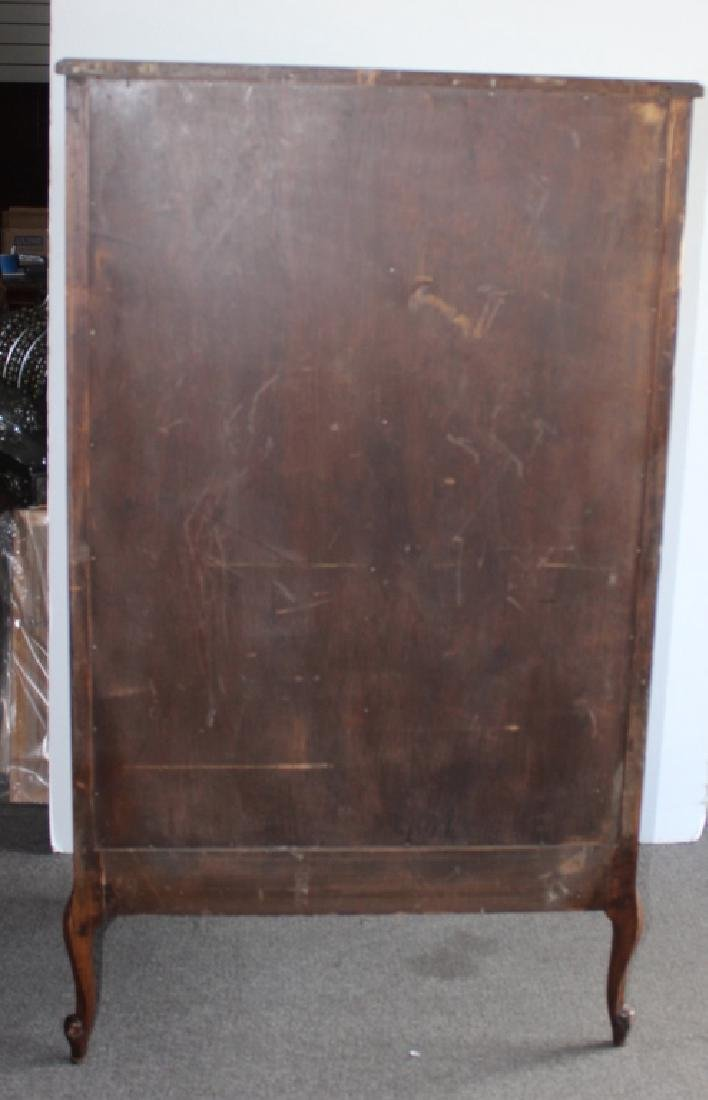 French Style Tall Chest of  5 Drawers - 4