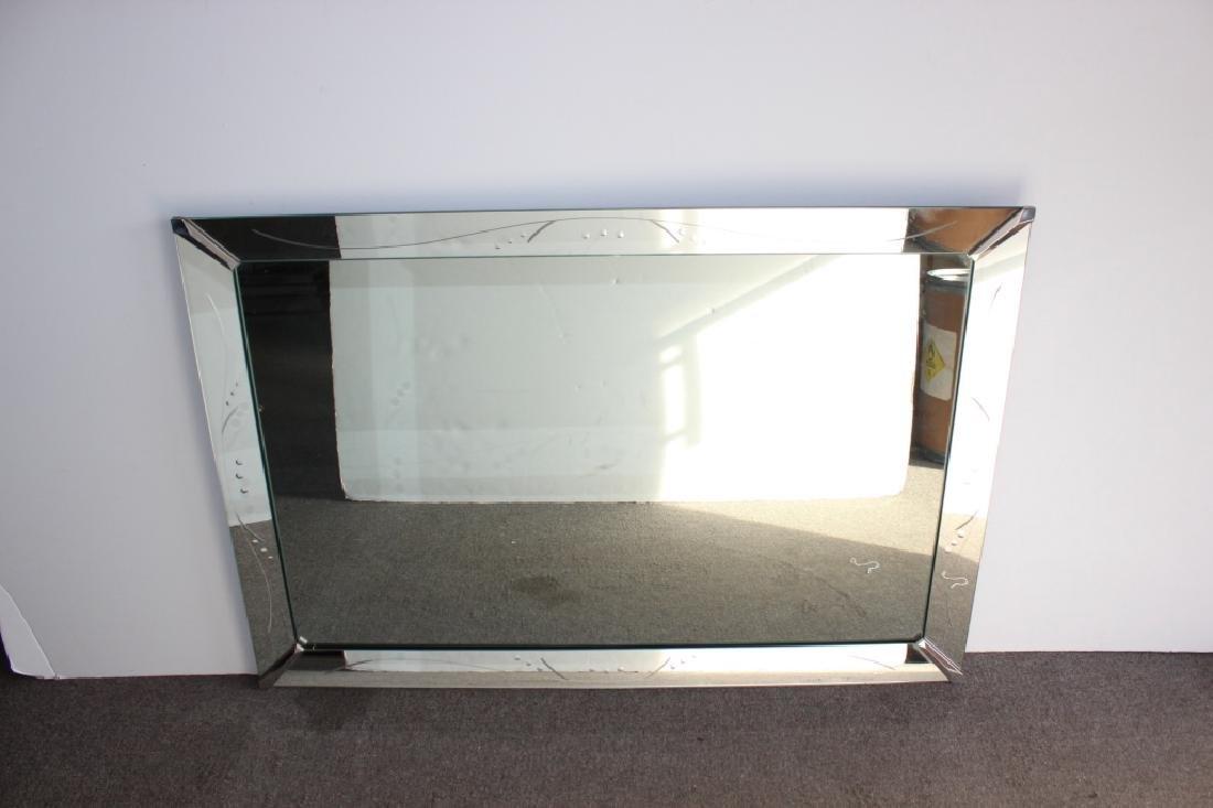 Circa 1940's Mirror w/ Mirror Frame