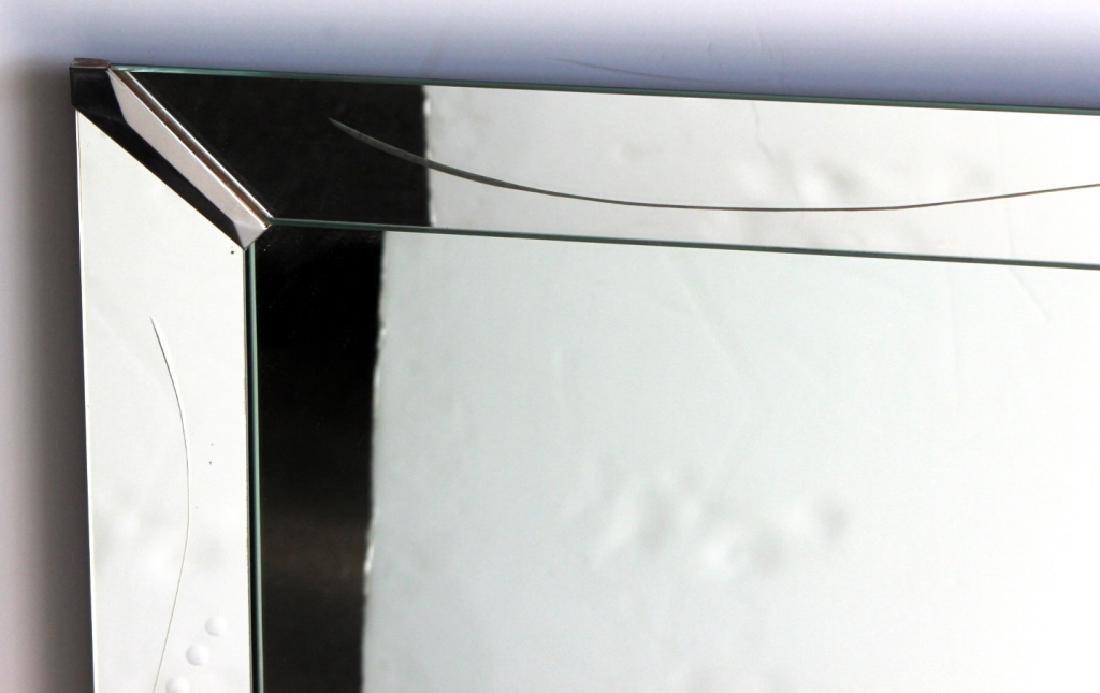 Circa 1940's Mirror w/ Mirror Frame - 2