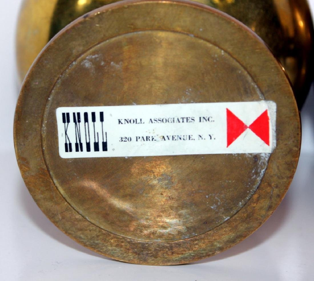 (5) Knoll Brass Goblets, c. 1965 - 4