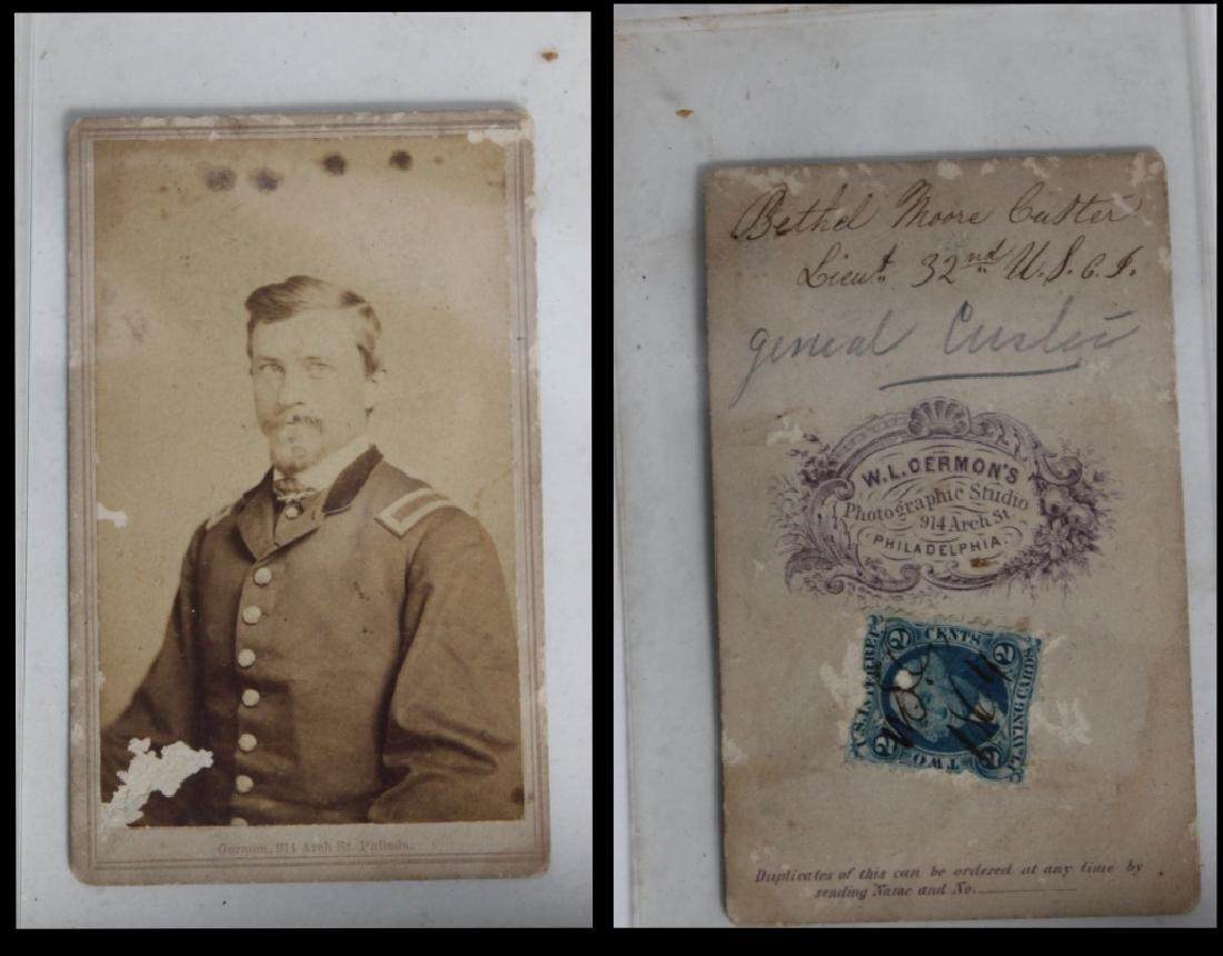 CDV Philadelphia Family Album George B. McClellan - 10