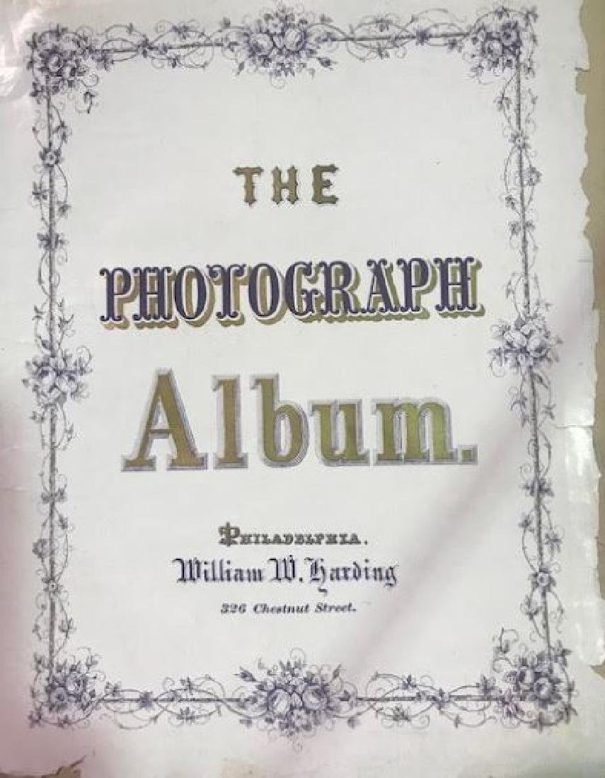 CDV Philadelphia Family Album George B. McClellan - 2