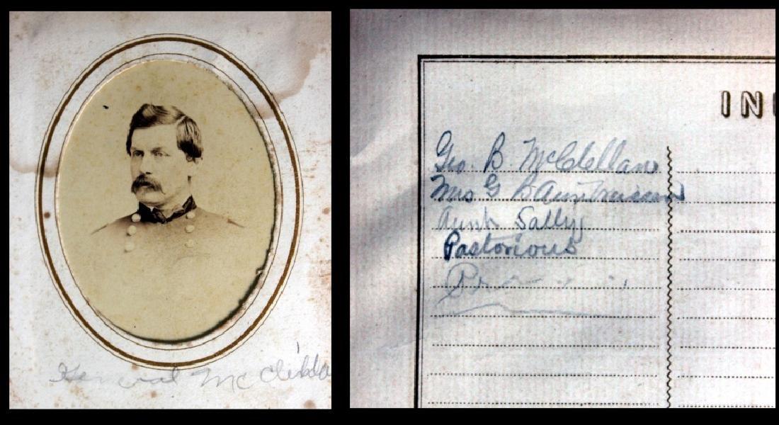 CDV Philadelphia Family Album George B. McClellan - 3