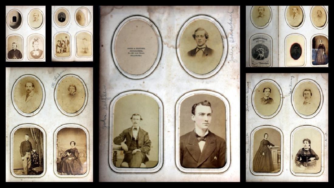 CDV Philadelphia Family Album George B. McClellan - 4