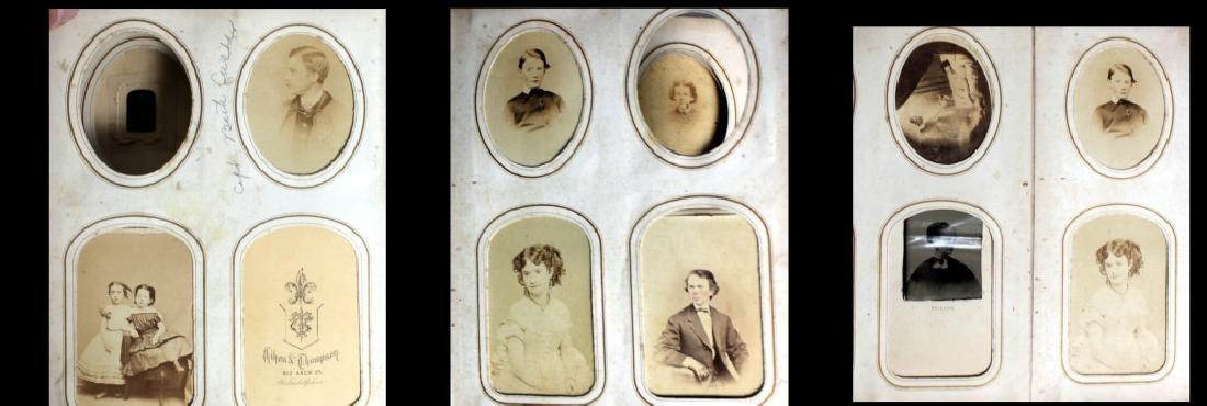 CDV Philadelphia Family Album George B. McClellan - 6
