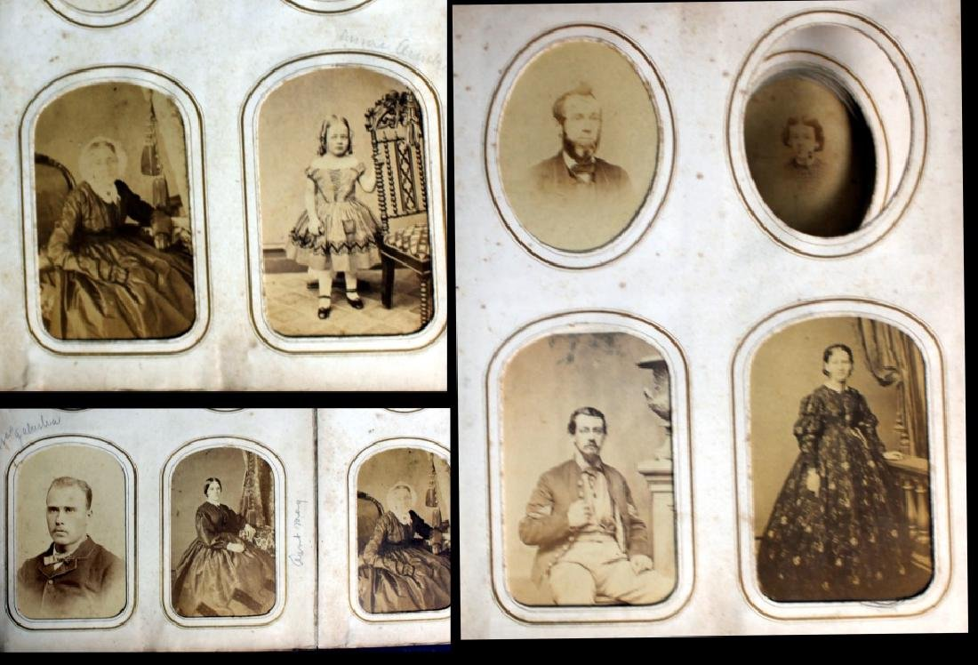CDV Philadelphia Family Album George B. McClellan - 7