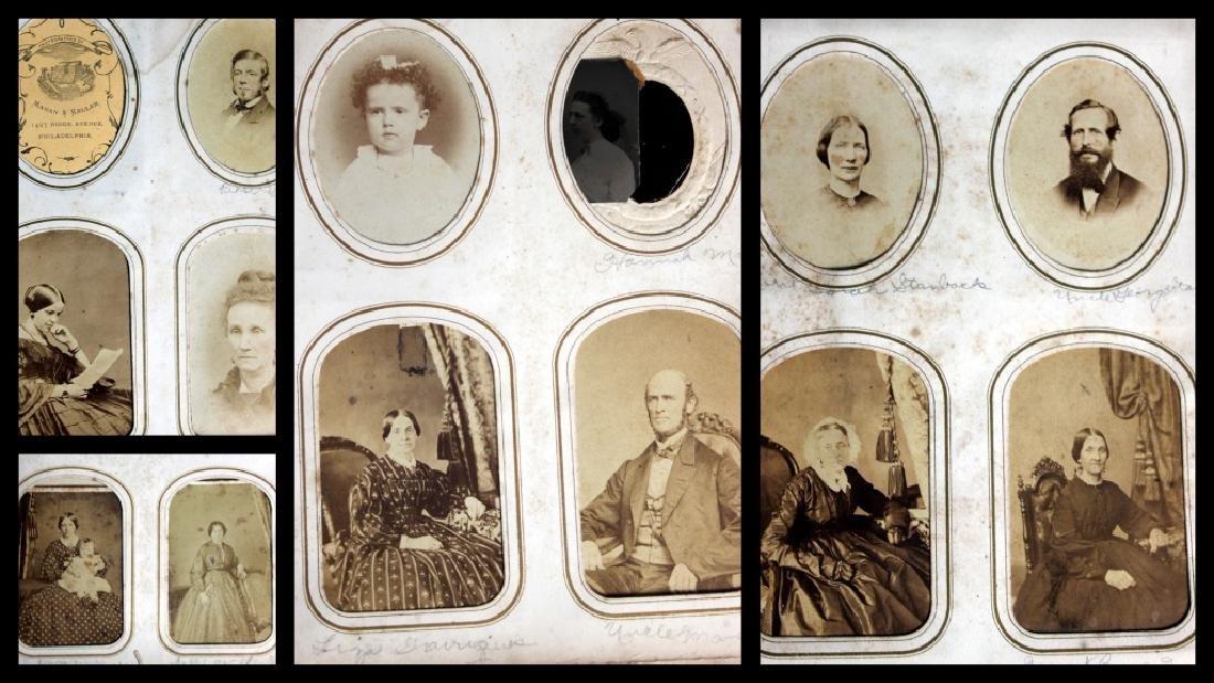 CDV Philadelphia Family Album George B. McClellan - 9