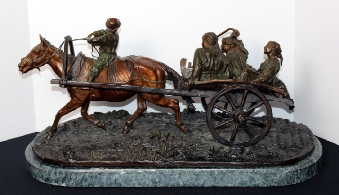 Evgeni Alexandrovich Lanceray(1848-1886) Russian Bronze