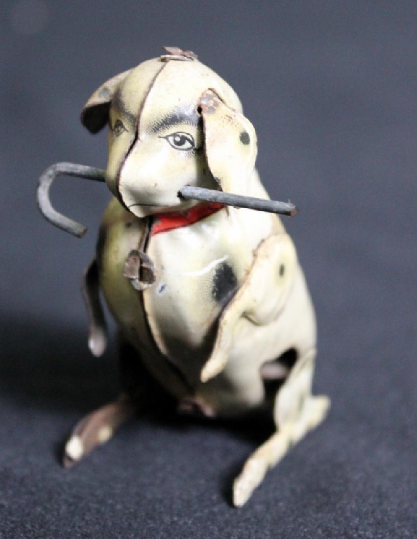 Vintage Wind Up Dog - 5