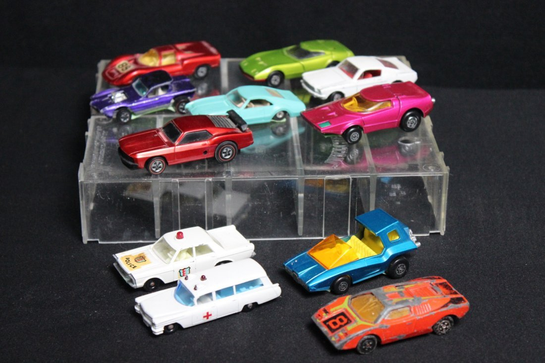 11 Vintage Matchbox Cars