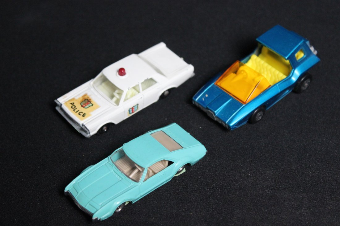 11 Vintage Matchbox Cars - 2