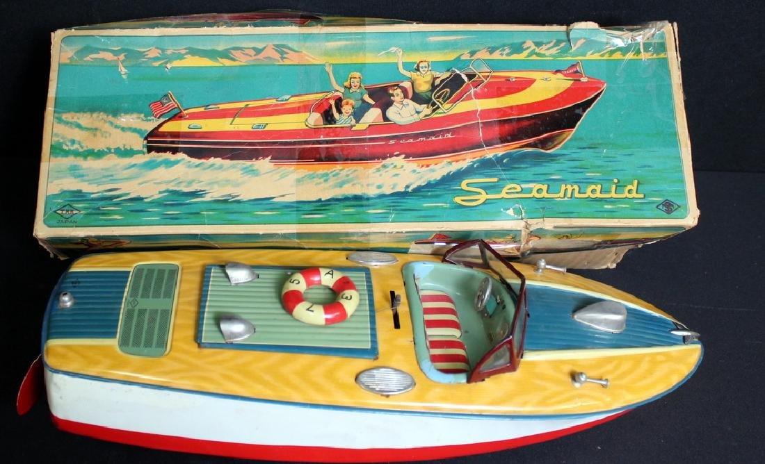 Vintage Seamaid Boat in Box