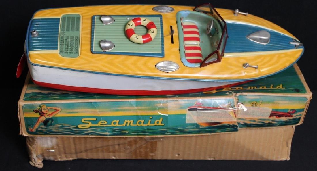 Vintage Seamaid Boat in Box - 2