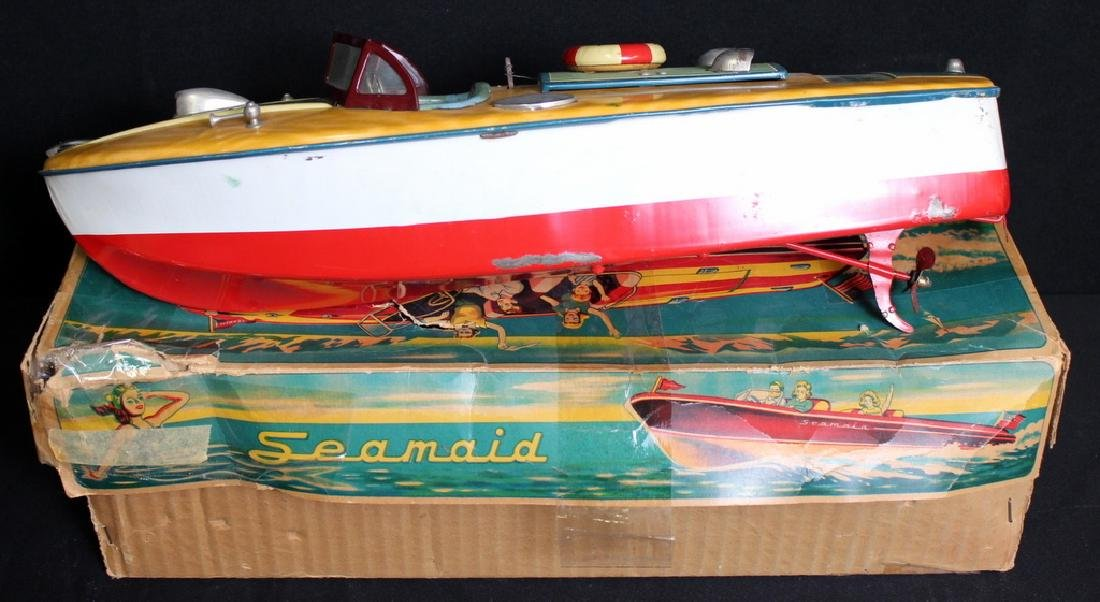 Vintage Seamaid Boat in Box - 3