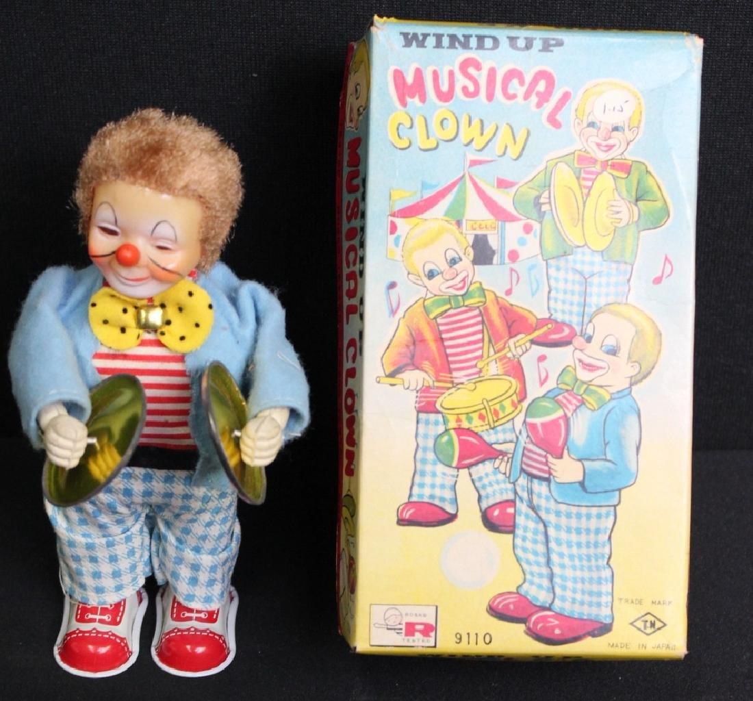 Rosko Musical Wind Up Clown