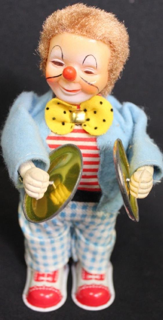Rosko Musical Wind Up Clown - 3