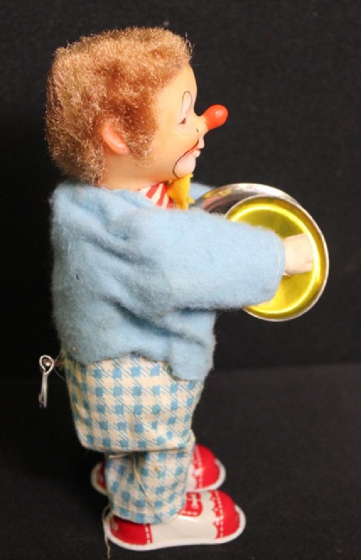 Rosko Musical Wind Up Clown - 7