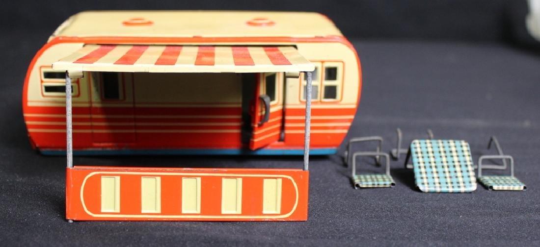Vintage Metal Camper & Furniture