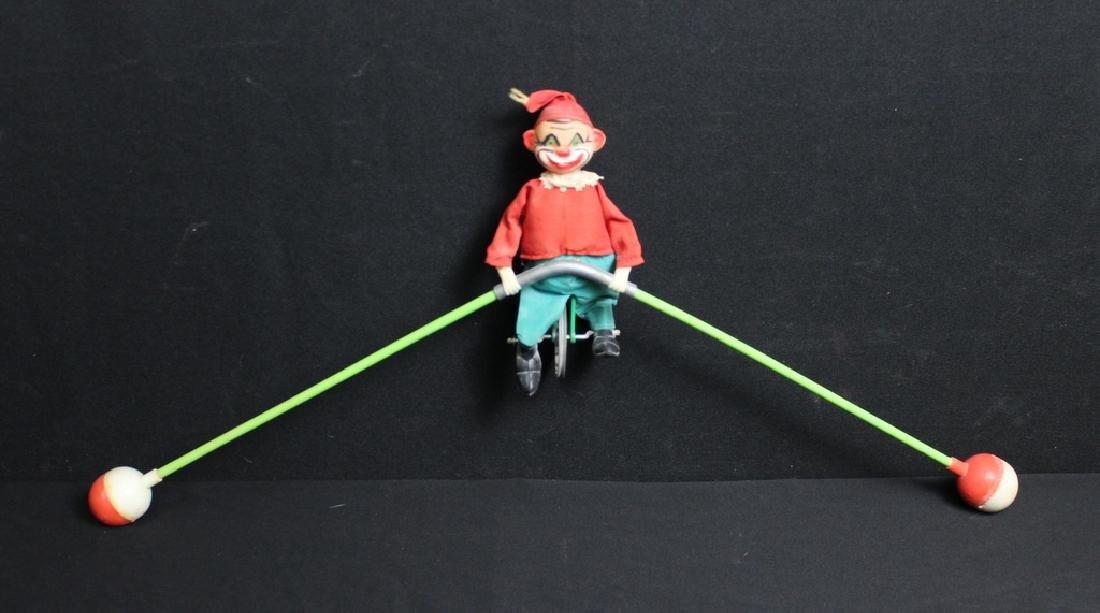 Vintage Balancing Clown