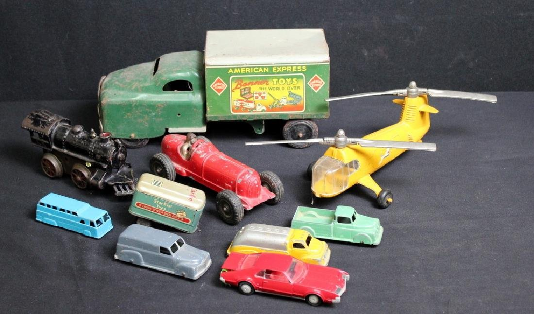Vintage Metal Vehicles