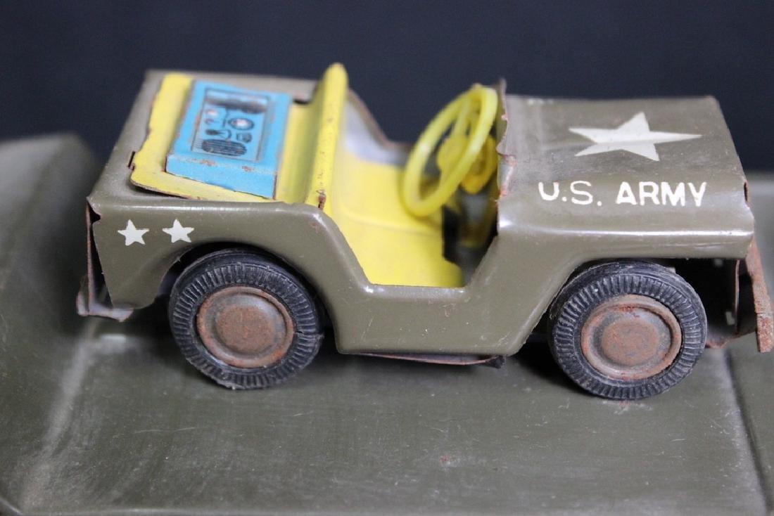 6 Metal Vintage Military Vehicles - 3