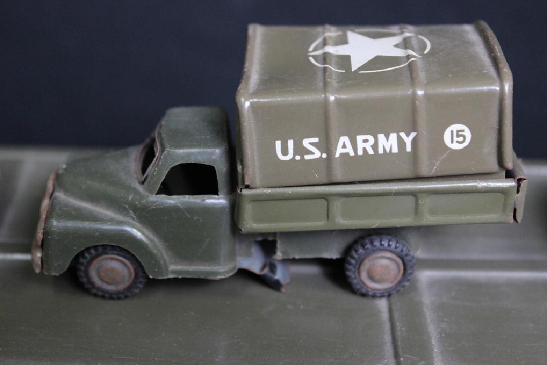 6 Metal Vintage Military Vehicles - 4