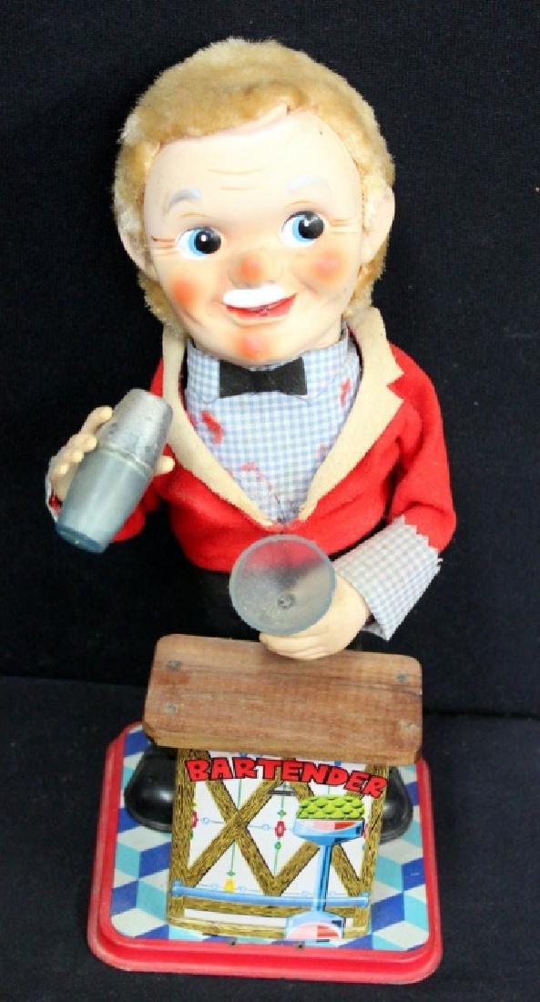 Vintage Bartender Toy