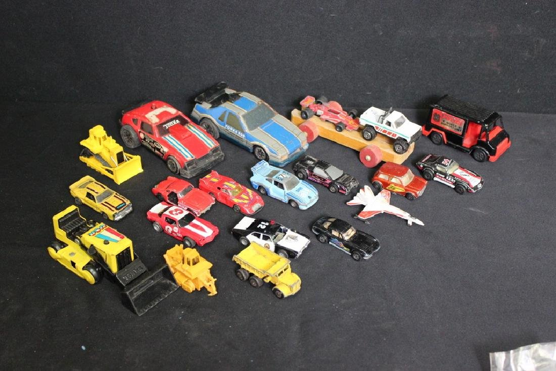 Assortment of  21 Vintage Toy Vehicles
