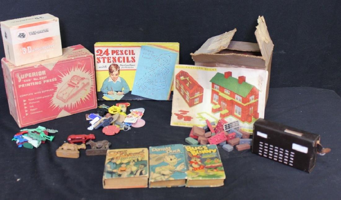 Vintage Toys, Games, & Cracker Jack Prizes