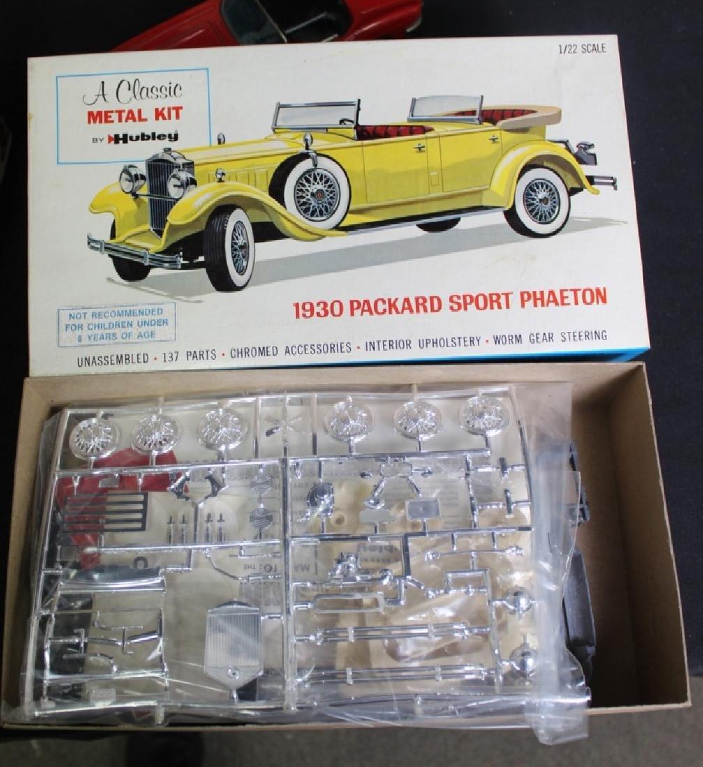 5 Vintage Boxed Car Kits & 1 Friction Car - 2