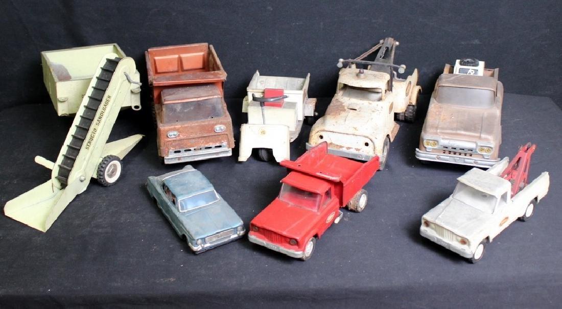 7 Vintage Metal Trucks