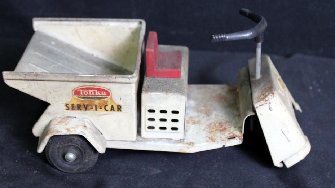 7 Vintage Metal Trucks - 5