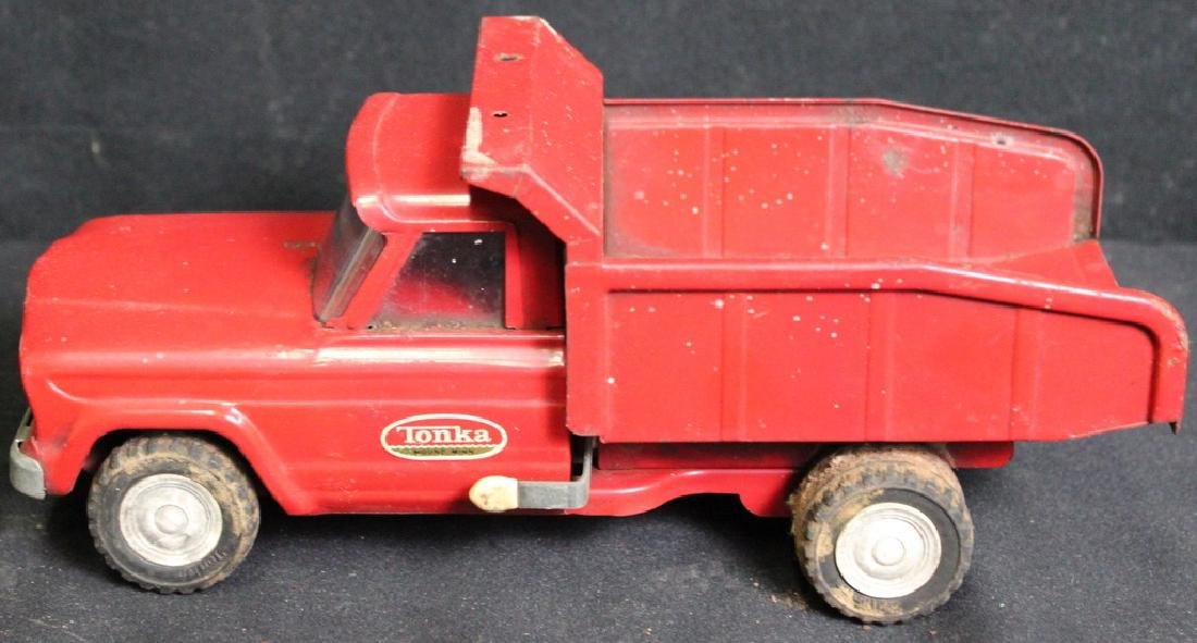7 Vintage Metal Trucks - 6